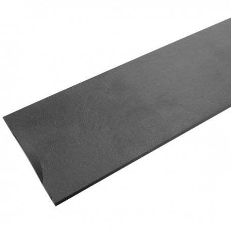 """Panel ciego de 1U para armario rack 19"""" Tapa negra a presión"""