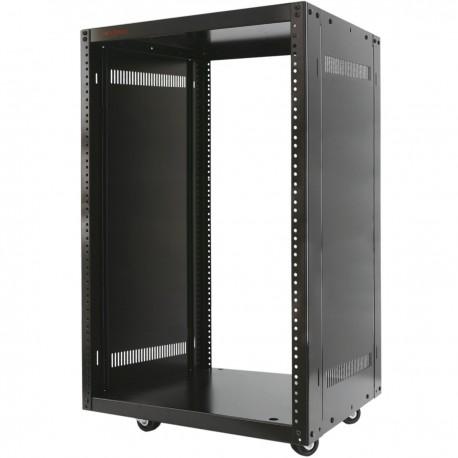 """Armario rack de estudio 19"""" 21U 507x460x1000mm con ruedas SOHORack desmontado DIY"""