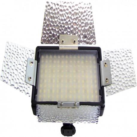 Lámpara de LEDs para cámara 8,40W 140LED con batería recargable