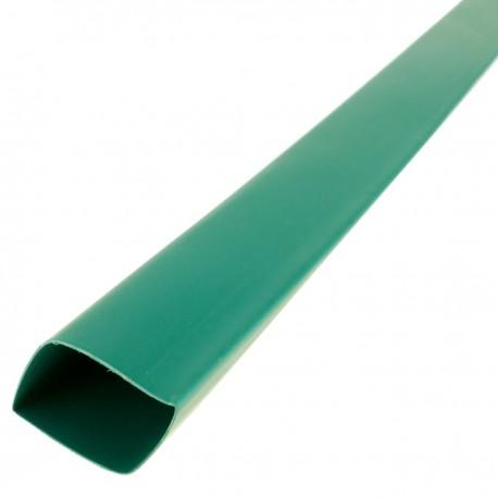Tubo termoretráctil verde de 19,1mm en bobina de 3m