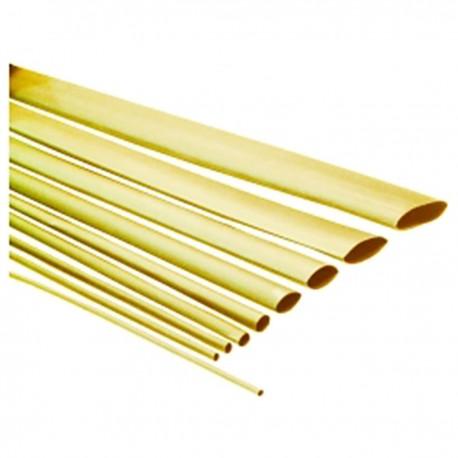 Tubo termoretráctil amarillo de 4,8mm en bobina de 3m