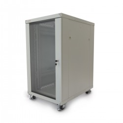 "Armario rack 19"" de pie 20U 600x800x1000mm blanco MobiRack de RackMatic"