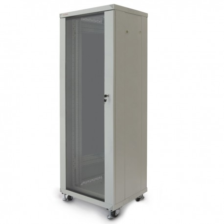 "Armario rack 19"" de pie 33U 600x600x1600mm blanco MobiRack de RackMatic"