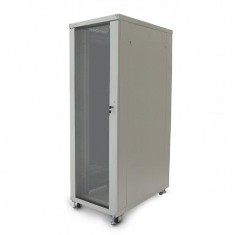 """Armario rack 19"""" de pie 42U 600x1000x2000mm blanco MobiRack de RackMatic"""
