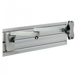 Soporte de monitor para panel slatwall con brazo doble (EGL-402)