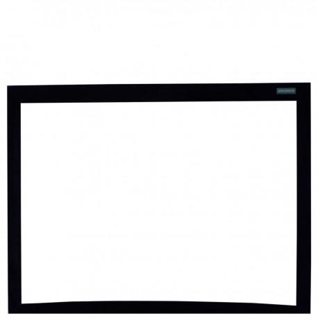 Pantalla de proyección curva 4:3 pared fija 2440x1830mm