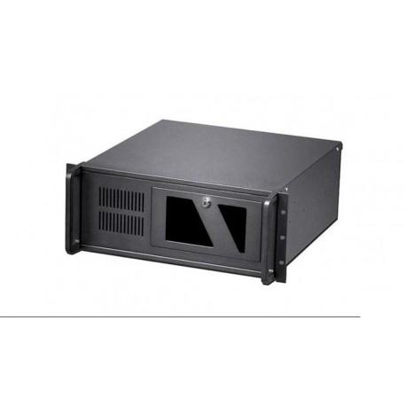 """Caja metálica de servidor ATX rack 19"""" 4U 482x177x499mm negro"""