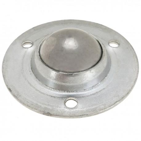 Rueda de bola de metal 19 mm para puertas y muebles