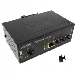 Ultra Power over Ethernet PoE extensor 1 puerto PoE a 4 puertos PoE IEEE802.3af/at 10/100/1000Mbps