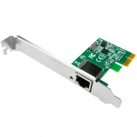 Tarjeta PCI-Express PCIe ethernet Gigabit 10/100/1000 Base-TX RJ45