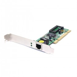 Tarjeta ethernet PCI32 10/100/1000 Base-TX Gigabit Gb
