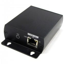 Extensor y repetidor LAN PoE para 100 m adicionales