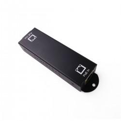 Extensor y repetidor LAN PoE para 100 m adicionales gigabit