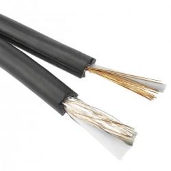 Bobina de cable coaxial RG59 y cable eléctrico 2x0.5mm2 100m