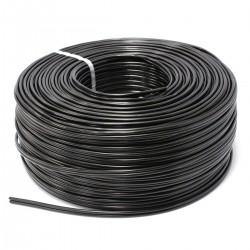 Bobina de cable coaxial RG59 y cable eléctrico 2x0.5mm2 200m