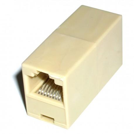 Empalme Cable UTP categoría 5 RJ45 hembra a RJ45 hembra