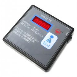 Comprobador digital RF radiofrecuencia 100MHz-1GHz mando a distancia