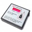 Comprobador digital RF radiofrecuencia 100MHz-1000MHz con soporte IR infrarrojos mando a distancia
