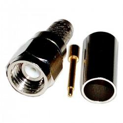 Conector Crimpable HDF-200 (SMA-Macho Aéreo)