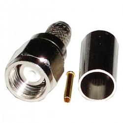 Conector Crimpable HDF-200 (rSMA-Macho Aéreo)