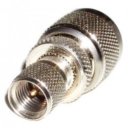 Adaptador Mini-UHF-Macho / N-Macho