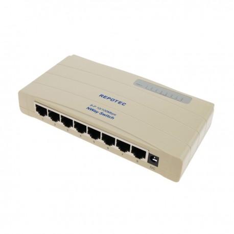 Conmutador ethernet LAN Switch 10/100Mbps 8UTP