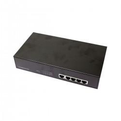 """Conmutador LAN switch Gigabit 10/100/1000 Mbps de 5 UTP para rack 19"""""""