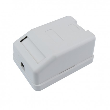 Caja de superficie de 1 RJ45 Cat.6 FTP