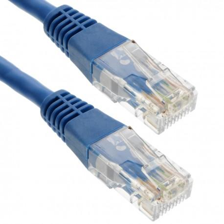 Cable UTP categoría 6 azul 50cm
