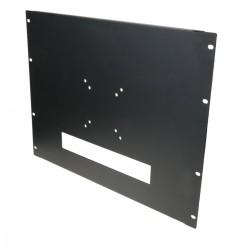 """Soporte de monitor LCD VESA 75 100 para armario rack 19"""" 8U"""