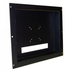 """Soporte de monitor LCD VESA 75 100 para armario rack 19"""" 9U"""