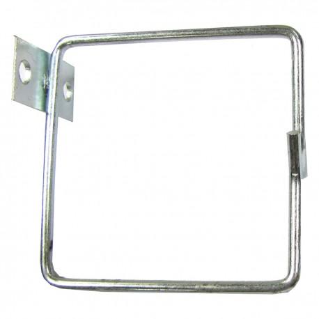 Anilla guíacables para rack 19 de 80x80 lateral 1