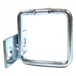 Anilla guíacables para rack 19 de 40x40 lateral 2