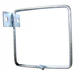Anilla guíacables para rack 19 de 80x80 lateral 2