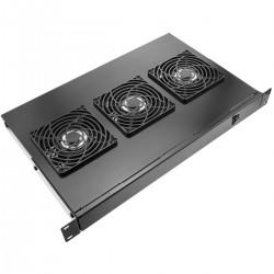 """Kit ventilación para rack 19"""" 1U de 3 ventiladores de 120mm - RackMatic"""