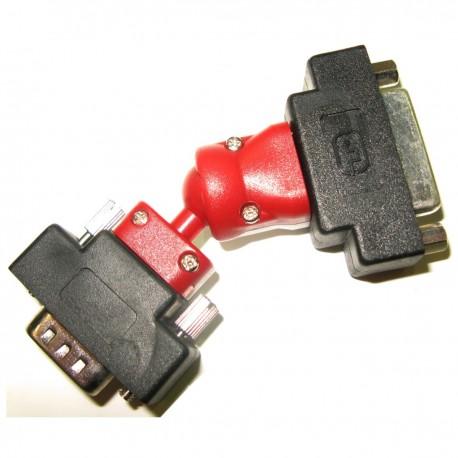 Adaptador Rotor DVI (DVI-I H / HD15-M)
