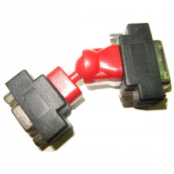 Adaptador Rotor DVI (DVI-I M / HD15-H)