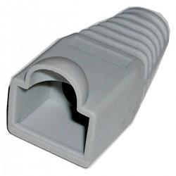 Cubierta de goma para conector RJ45 de color gris/blanco