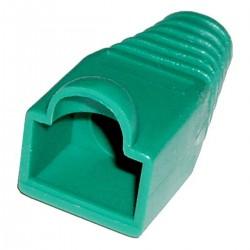 Cubierta de goma para conector RJ45 de color verde