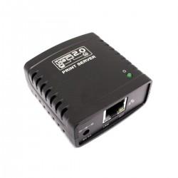 Servidor de impresora 10/100Mbps UTP a USB