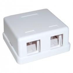 Caja de conexión universal de 2 zócalos compatible TB110