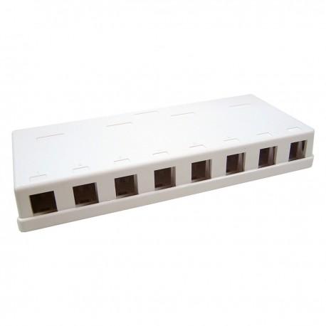 Caja de conexión universal de 8 zócalos compatible TB110