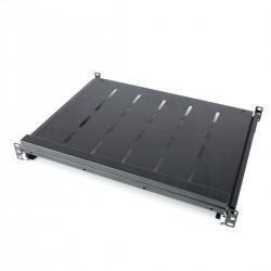 Bandeja telescópica para rack-19 de 1U y fondo 350mm 375-645mm para teclado