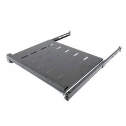 Bandeja telescópica para rack-19 de 1U y fondo 350mm 585-875mm para teclado