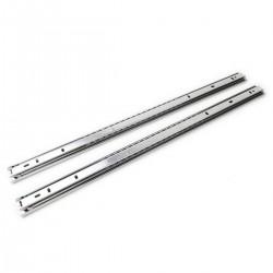 """Guías laterales telescópicas de 550 mm extensibles para caja rack 19"""" IPC"""