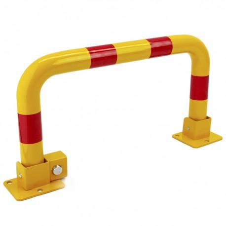 Barrera de aparcamiento abatible plegable con cerradura 630 mm