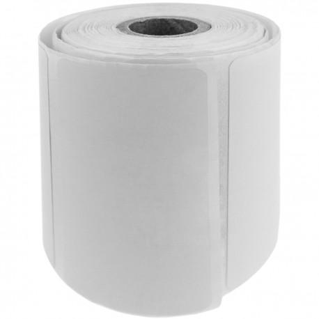 Rollo bobina de 500 etiquetas adhesivas para impresora térmica directa 50.8x25.4mm