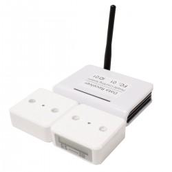 Sistema contador de personas por infrarrojos IR hasta 40m con receptor para PC