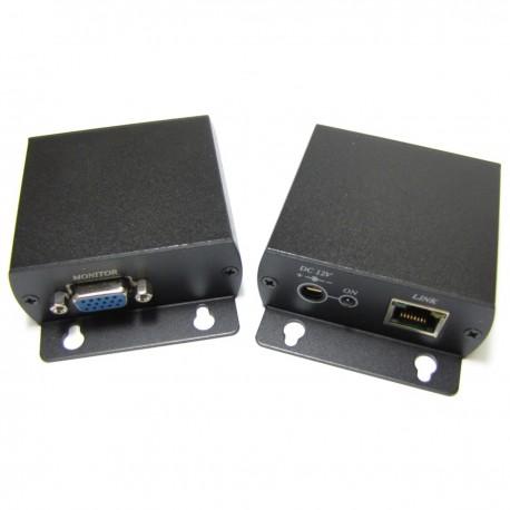 Extensor VGA de alta resolución UTP Cat.5 emisor y receptor VE01H