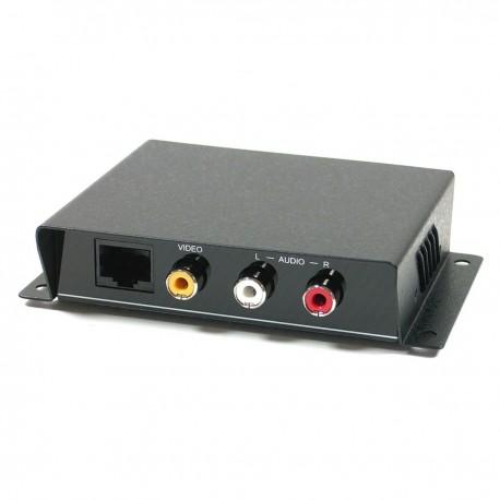 Receptor de audio y vídeo UTP Cat.5 para SH51 CE01A-S